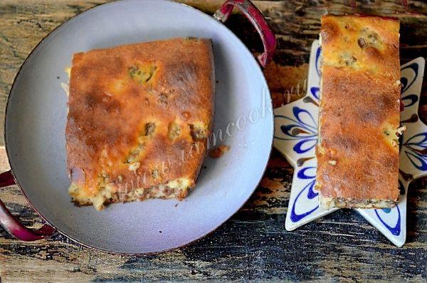 Фото заливного пирога с мясом