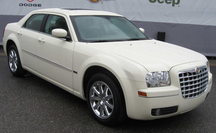 Chrysler 300-  bought a 2005 in 2009. Still have it in 2012. Black not white.