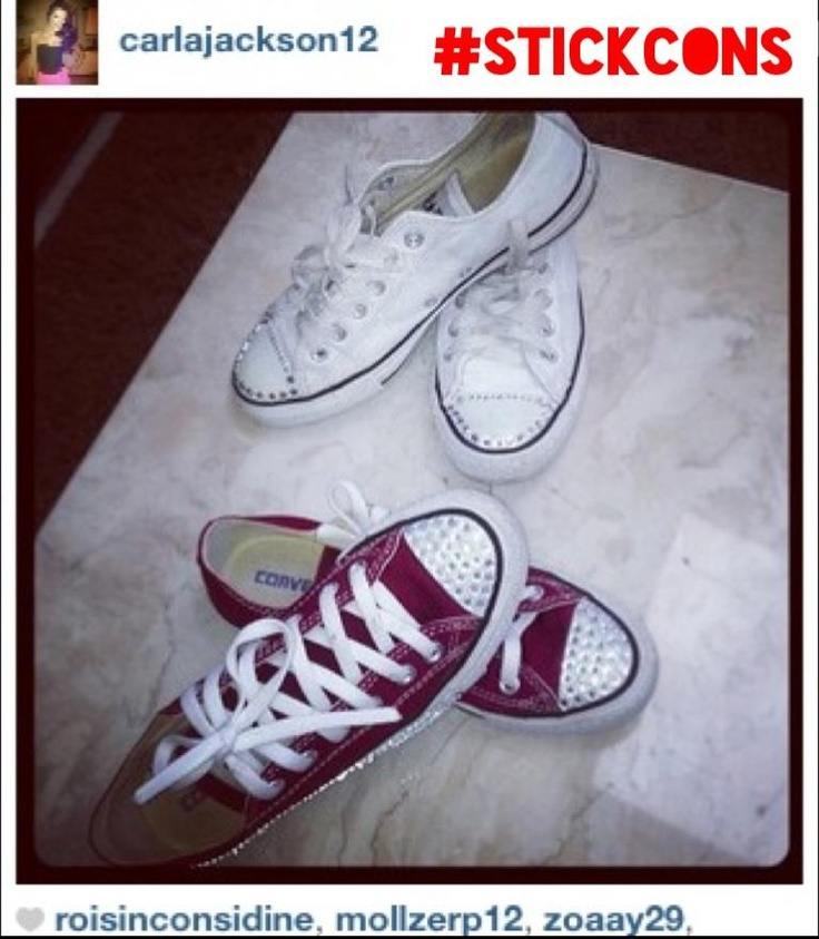 738f5f2a912fdc We love this pic that Carla Jackson posted of both sets of her sneakers on  Instagram
