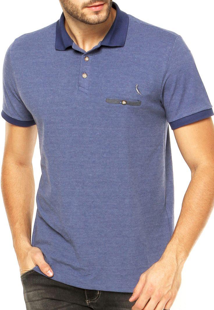 Camisa Polo Reserva Azul - Compre Agora | Dafiti Brasil