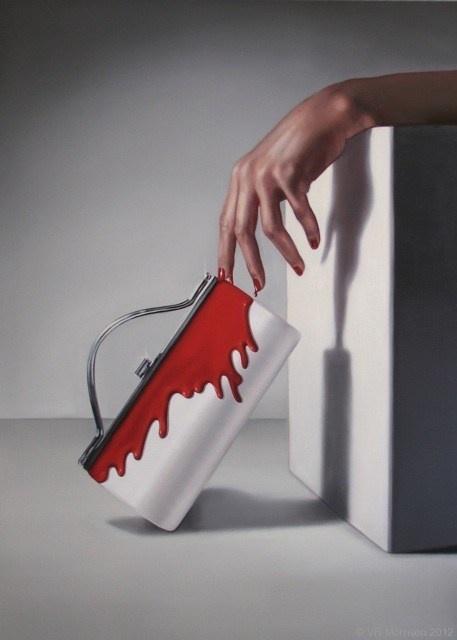Bleed Like V - VR Morrison Contemporary Artist