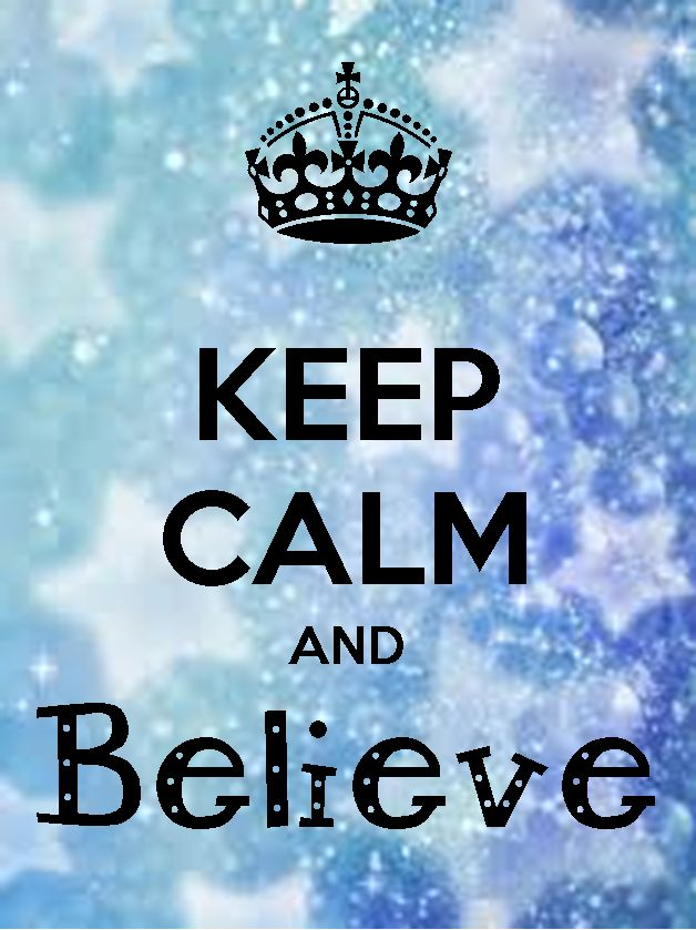 Keep Calm and Believe (Stars) by Phyllis Fisher The Back Office