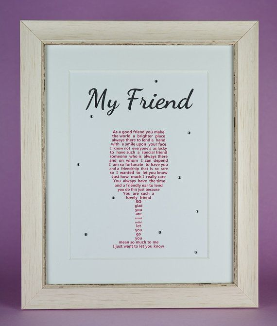 Friends, Gifts For Friends, Friend Birthday