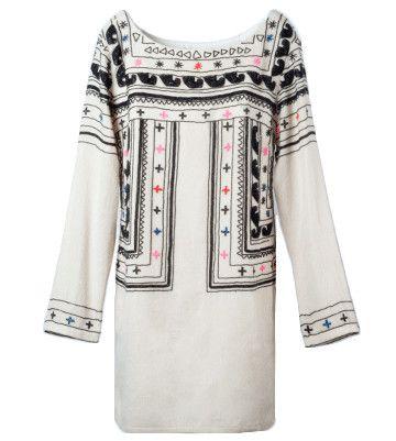 mara hoffman : ビーズ刺繍 ウールワンピース/ドレス アイボリー (MARA HOFFMAN マラ・ホフマン) | Sumally