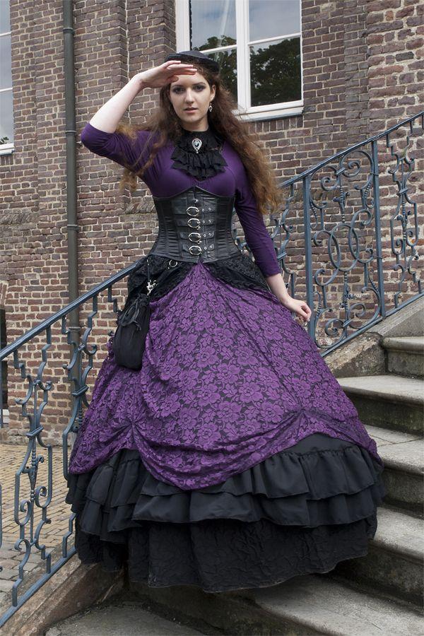 Hermosa Vestido De Boda Del Steampunk En Venta Ideas Ornamento ...
