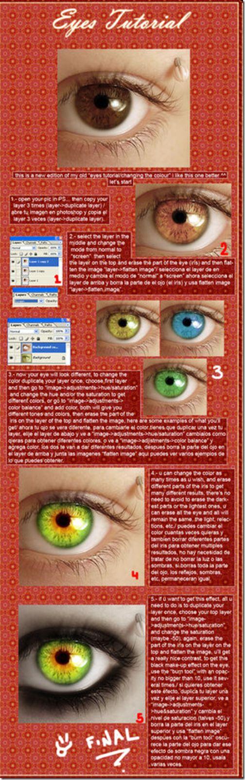 Eye Enhancement Tutorial