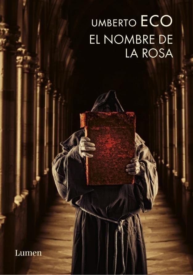 """""""El nombre de la rosa"""" de Umberto Eco. En esta espléndida biblioteca medieval solo puede entrar una persona: el bibliotecario. Como símbolo de las bibliotecas del pasado, acaba ardiendo en el fuego fanático..."""