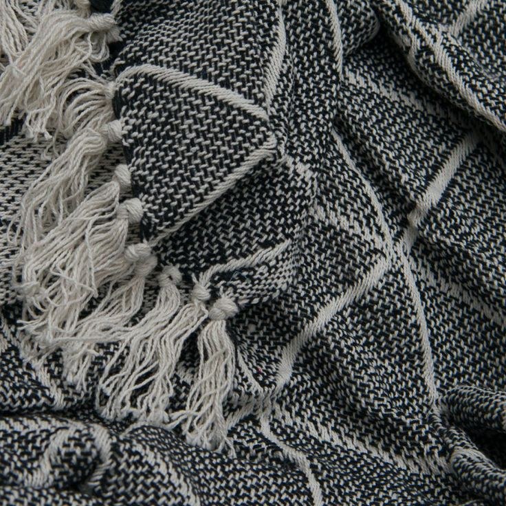 Adding a throw to your bed or sofa is a simple & effective way to introduce a new colour & texture to your decorating scheme! Our 100% woven cotton throws are perfect all year around. Shown here in black. Only $14.95 each.