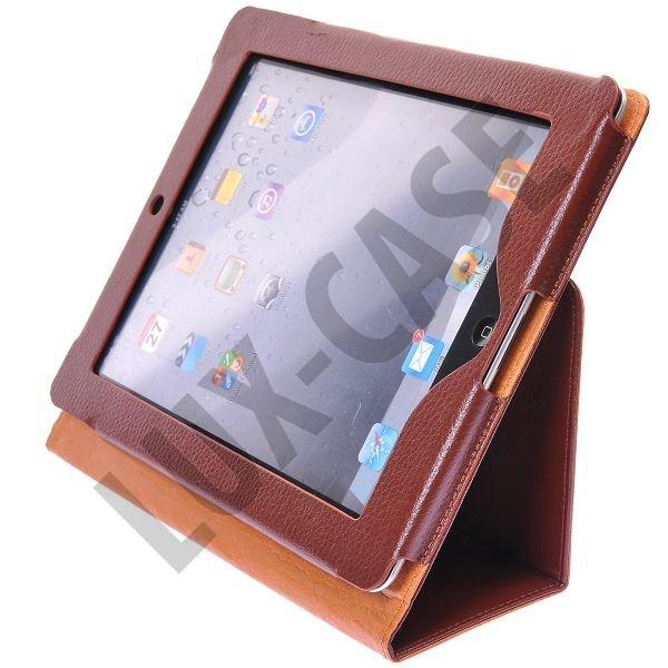 Classic iPad Leather Flip Case - Folding Stand