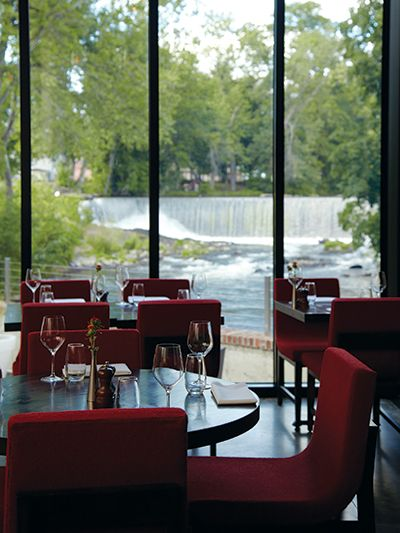 Restaurant Review Roundhouse At Beacon Falls Hudson Valley Magazine September 2017 Poughkeepsie Ny A River Runs Through It The Of
