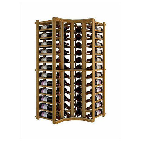 Napa Vintner Stackable Wine Rack - Curved Corner - Wine Enthusiast