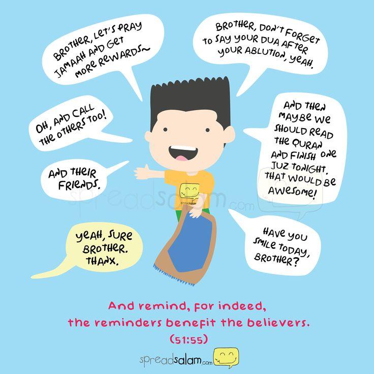 """وذكر فإن الذكرى تنفع المؤمنين  """"And remind, for indeed, the reminder benefits the believers."""""""