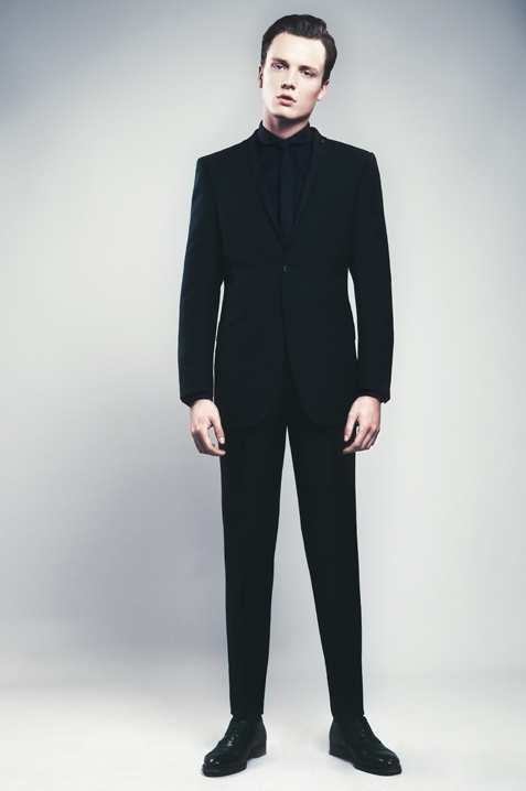 Evening wear by Ozwald Boateng  Love this look! Black on black all day
