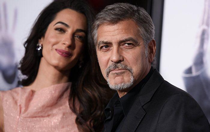 Sputnik Türkiye ///  George Clooney'nin ikiz çocuğu oldu