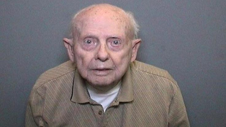 A 96-year-old man is facing molestation charges after he removed a diaper to expose himself to young girls.