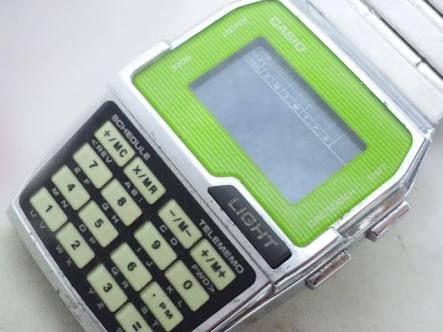 「カシオ 電卓付き腕時計 画像」の画像検索結果