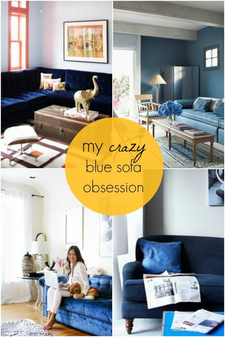 blue sofa obsession