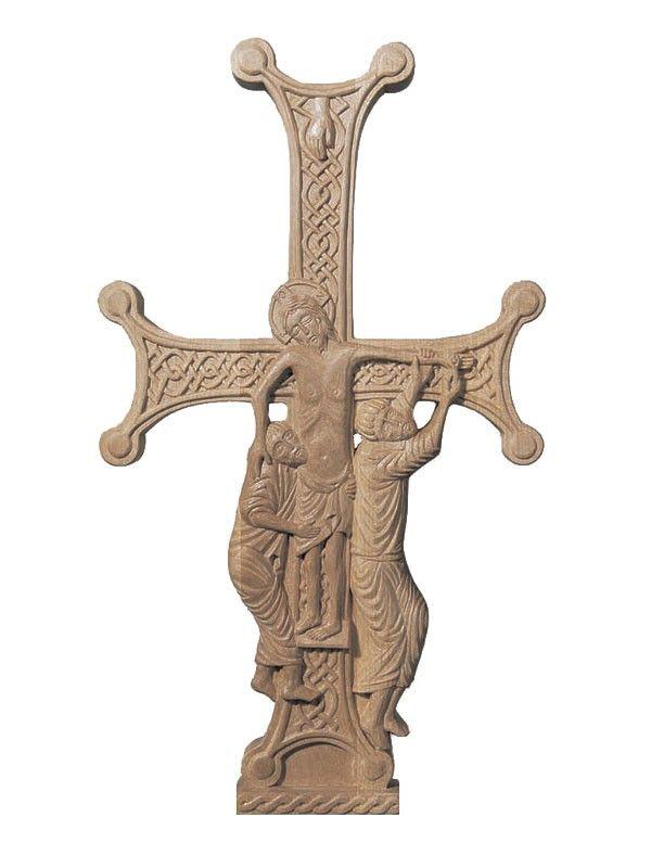 Wooden Cross, $215.00, made to order.  #crucifix #cross #church #icon #orthodox #life #God #Jesus #Christ #faith #love #handmade #catalogofgooddeed #ordericon #buyicon #christianity #messiach #wood  #carving