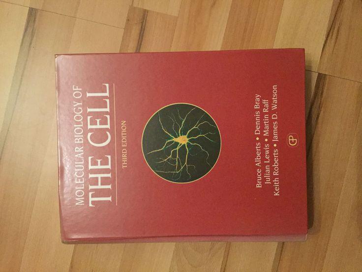 Molecular Biology of the Cell 3. Edition, sehr guter Zustand, englisch