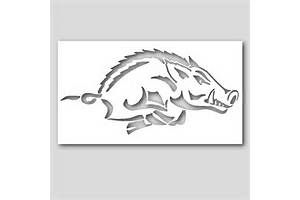 Arkansas Razorbacks Printable Pumpkin Carving Patterns Pictures to Pin on Pinterest - PinsDaddy
