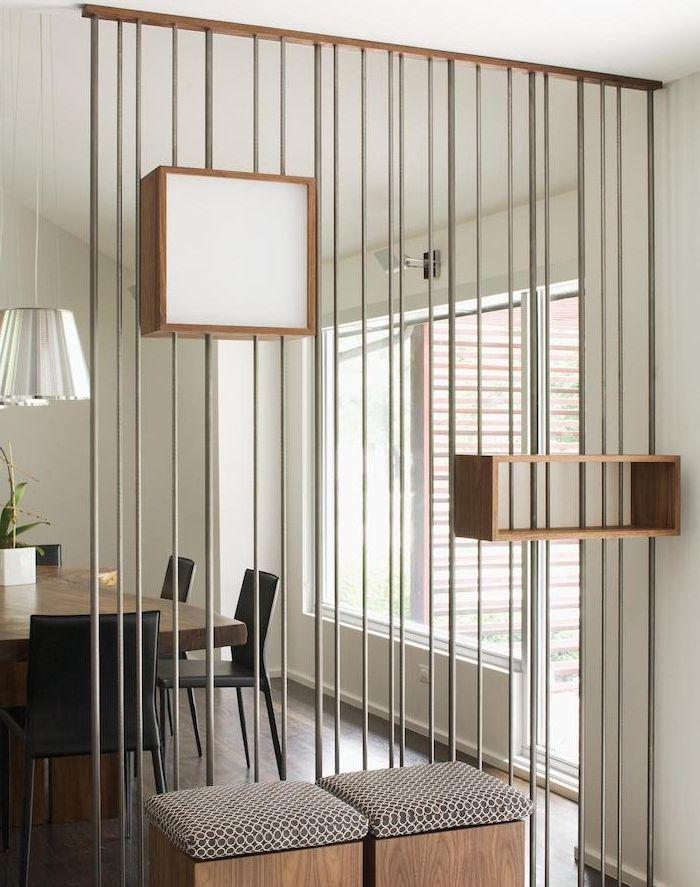 ▷ 1001 + idées gain de place pour une séparation de pièce sans ...