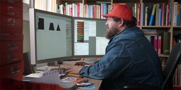 Bienvenue dans la tête d'un designer ! http://graphism.fr/ vient de pointer cette superbe vidéo (en anglais sous-titré) ou un graphiste explique la manière dont il s'organise dans son processus créatif : tout simplement passionnant !
