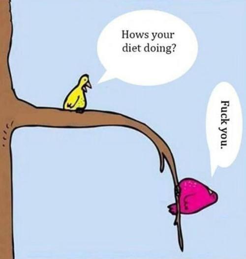 How's your diet?