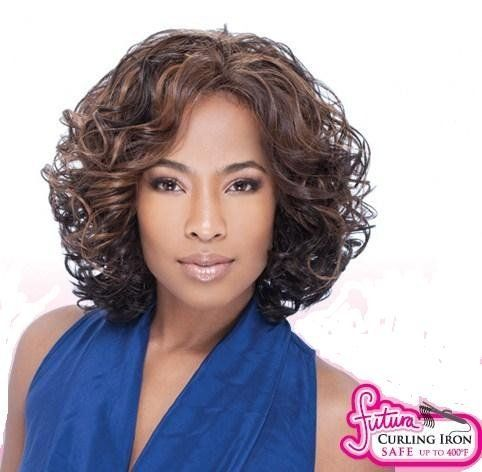 VERONICA - Shake N Go Freetress Equal Lace Front Natural Hairline Wig #1B by Equal. $44.99