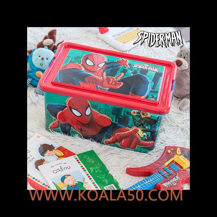 Organizador de #Juguetes Spiderman (45 x 32 cm) - 10,79 €  ¡Los peques de la casa ya pueden guardar y ordenar sus #juguetesgracias al organizador de juguetes Spiderman (45 x 32 cm). ¡El jugueterofavorito de los niños!Fabricado de...  http://www.koala50.com/organizadores/organizador-de-juguetes-spiderman-45-x-32-cm