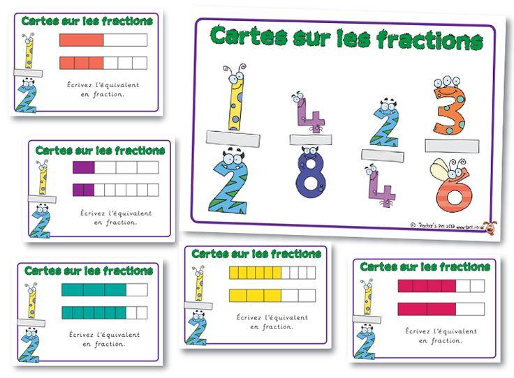 Cartes sur les fractions
