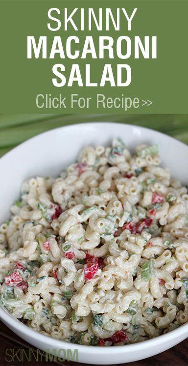 Yummy, Must-Have Skinny Macaroni Salad!!!!