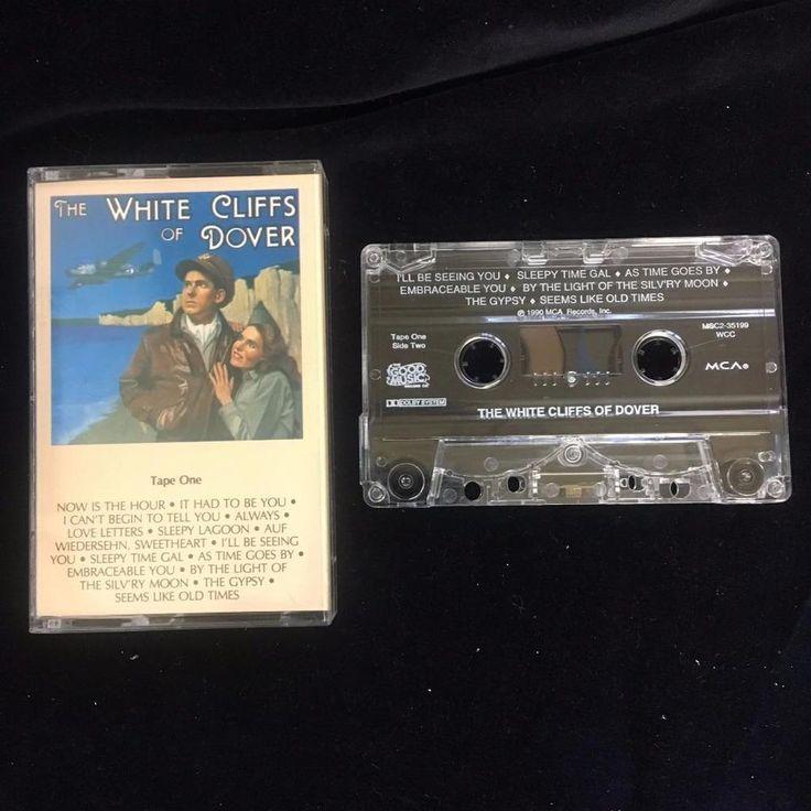 1 Cassette 1990 White Cliffs of Dover Tape One Easy Listening Romance War #EasyListening