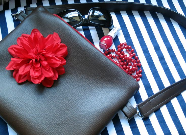 ...my first leather bag