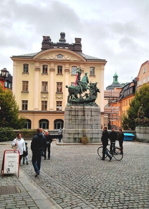 #Stockholm  Santk Göran och Draken