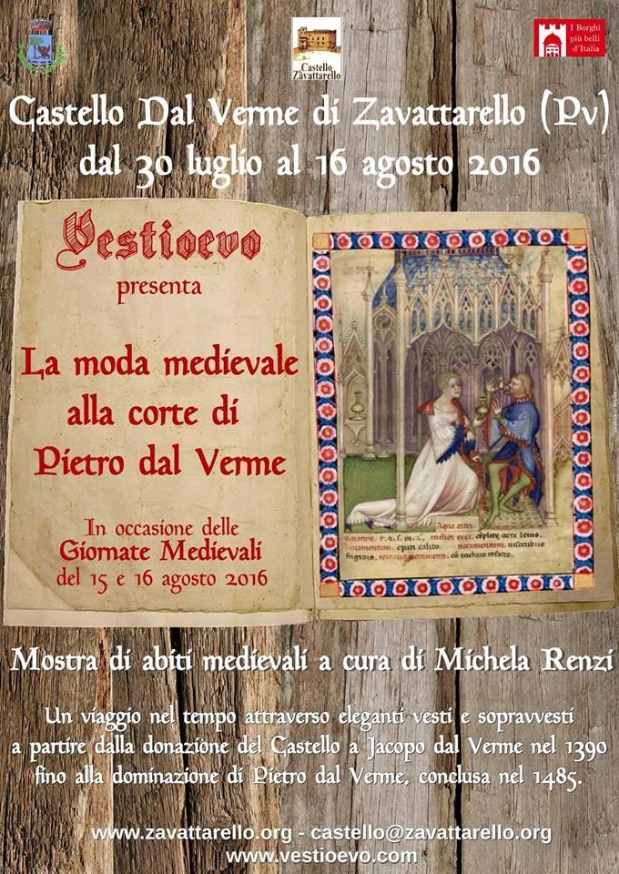Galleria Medievale: La moda medievale alla corte di Pietro dal Verme