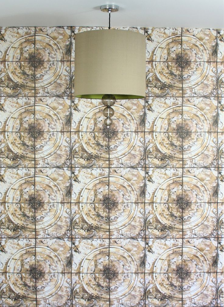 SUNTILE offers a classical sundile feature which is incorporated in a tile effect. This is an artistic impression that brings an original vintage style with a watercolour finish hand write, in addition to the delicate focal point of antique crystals.