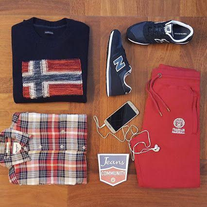 Venerdì: relax #buonweekend #weekend #enjoy #jeans #community #jeanscommunity #outlet #outletvertemate #fashion #fashionaddicted #denim #denimlovers #napapijri #franklinANDmarshall #wrangler #wranglerjeans #wrangler_europe #newcollection #newbalance #sneakers - JEANS COMMUNITY by OutletVertemate - Google+