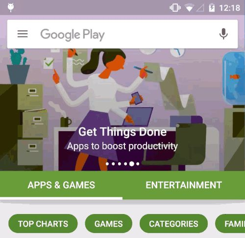 Android Market / Play Store has been my work home for the last (almost) six…