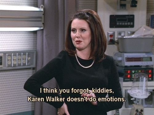 K is for Karen Walker. | The Alphabet According To Karen Walker, Will & Grace