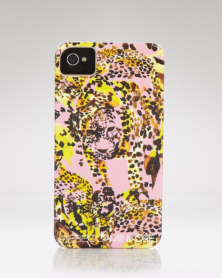 Rebecca Minkoff iPhone Case - Pink Spotted | Bloomingdale's