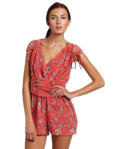 French Connection Women's  Phoenix Silk Playsuit