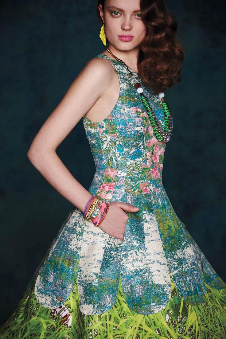 #Anthropologie #MadeInKind #TracyReese #Spring: Tracy Reese, Summer Dresses, Spring Dresses, Anthropology, Style, Anthropology Com, Impressionist Dresses, Revisit Impressionist, Digital Prints