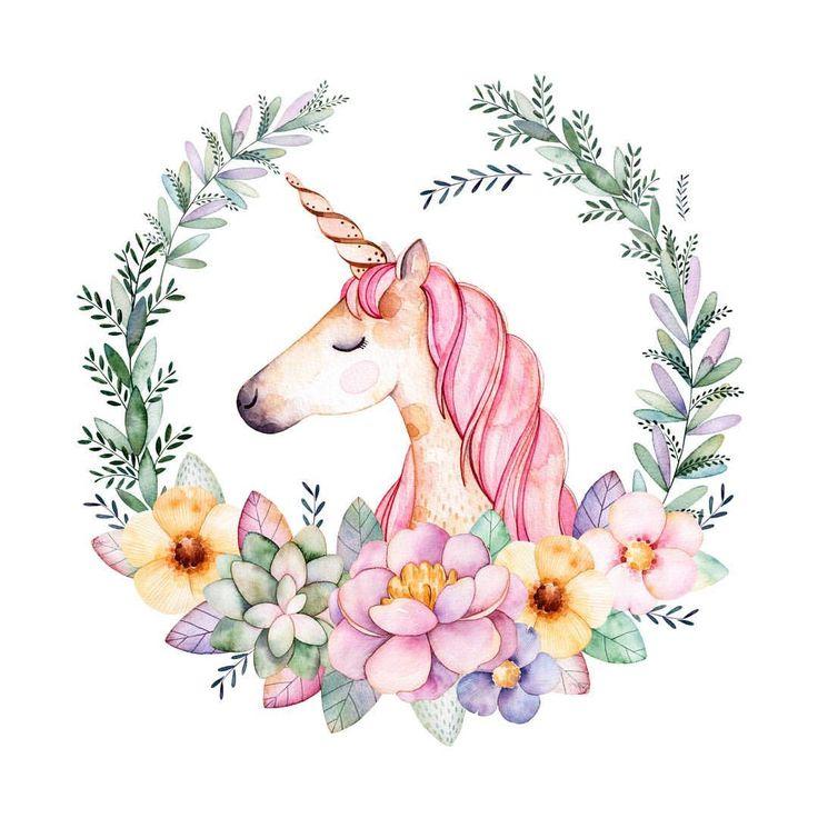 """- Happinez Magazin (@happinez_de) on Instagram: """"Findet ihr Einhörner auch so toll wie wir?? #einhorn #unicorn #illustration #lovelife…"""""""