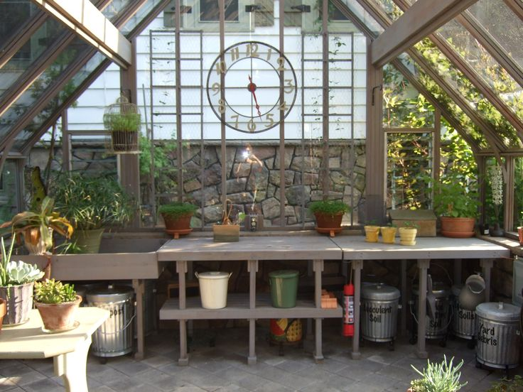Perfect The Custom Size Of This 14 X 14 Greenhouse Allows Ample Space For Gardening  Supplies And