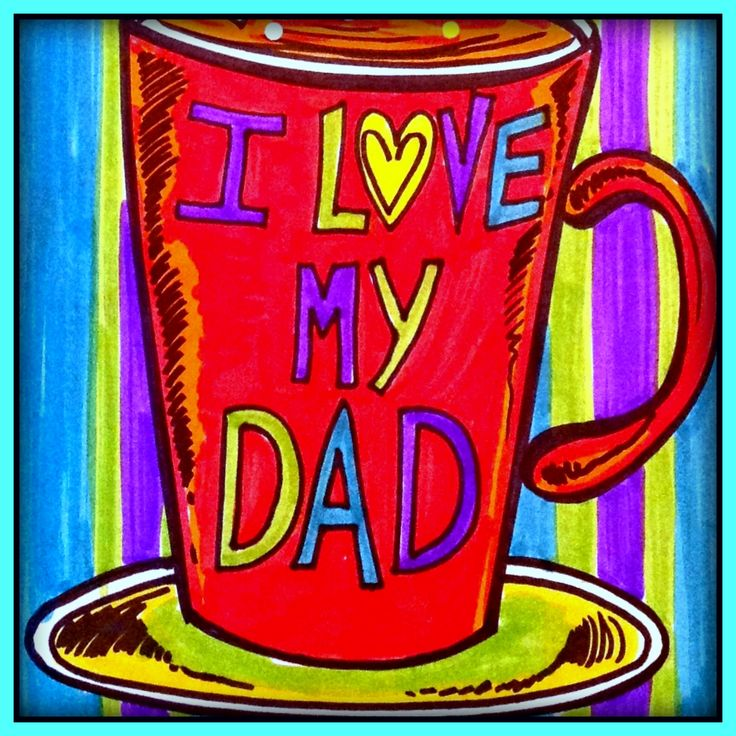 Father's Day: A magnificent creation that you can transform into a card for Father's Day. A simple project, with the need for very few materials for the end of the school year.