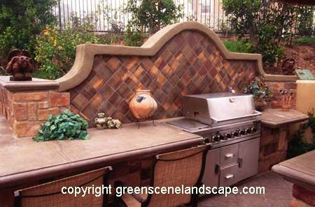17 best images about outdoor kitchen tile ideas on for Spanish style outdoor kitchen