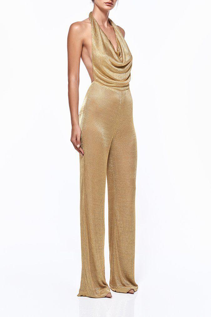 935f7687b292 OLIVIA WIDE LEG MESH PANTSUIT - Wide Leg Pantsuits - Pantsuits - Shop