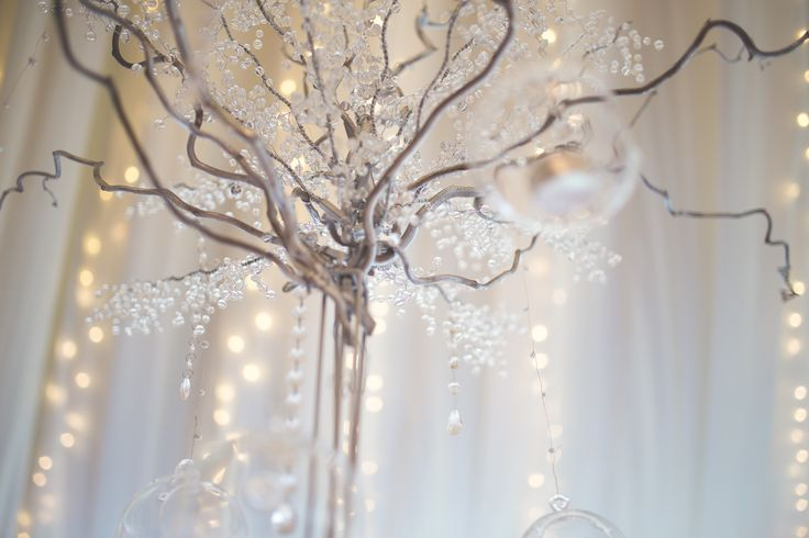 Wedding table centrepeice