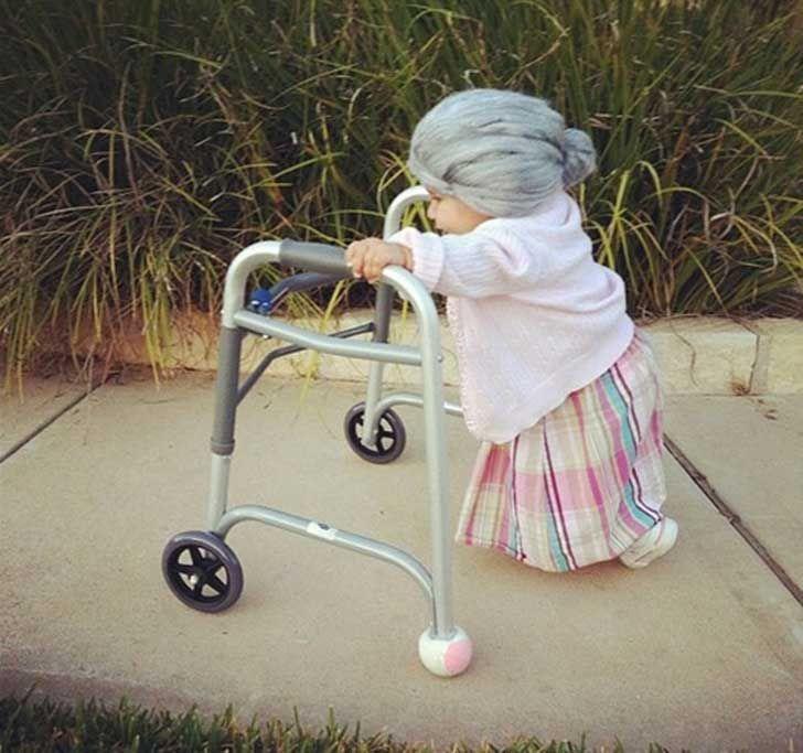 ¡¿Que hace esta abuela para no tener arrugas?!