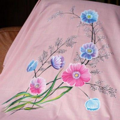 Kain Katun Lukis Wild Flowers - http://www.slightshop.com/produk/kain-katun-lukis-wild-flowers/